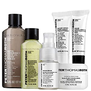 Peter Thomas Roth Sulfur Cooling Masque Acne Kit
