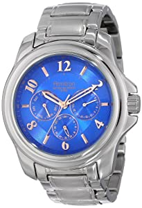 Armitron Men's 20/4924BLSV Stainless Steel Bracelet Watch
