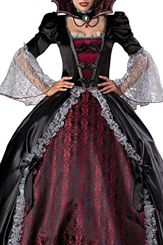 Rose Memery Women's Splendid Vampire Dress Halloween Costume One Size
