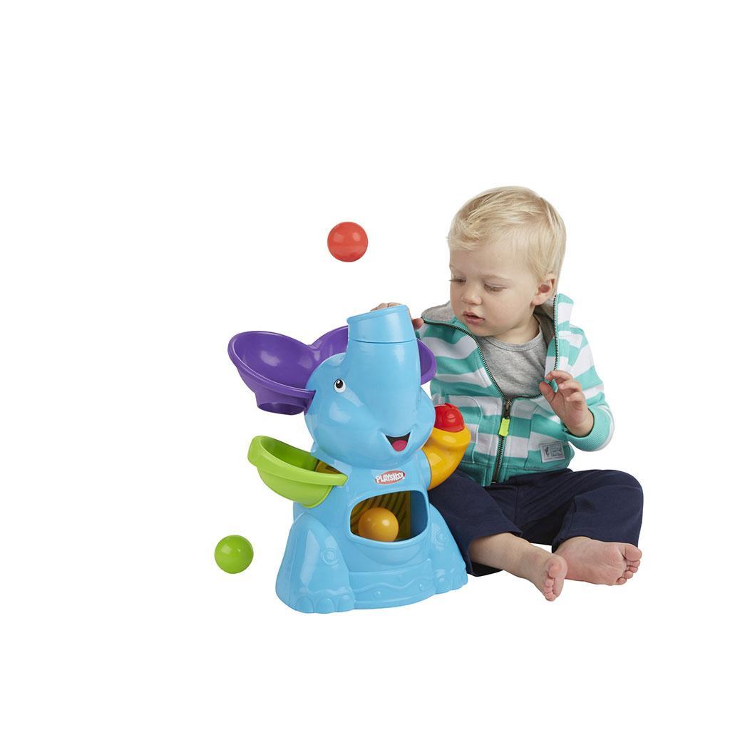 Amazon Com Playskool Poppin Park Elefun Busy Ball Popper