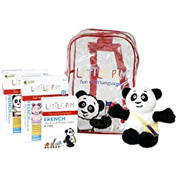 Little Pim: French Backpack Plus