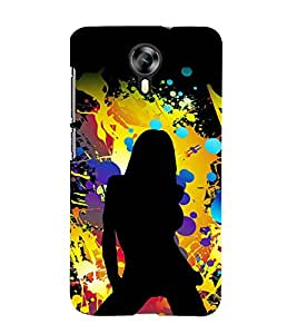 printtech Hot Girl Pattern Back Case Cover for Micromax Canvas Xpress 2 E313