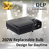 Newest 3D Projector 8000led 4000ANSI Lumens HD 4k Beamer Proyector Proektor Home Theater Portable Projectors HDMI...