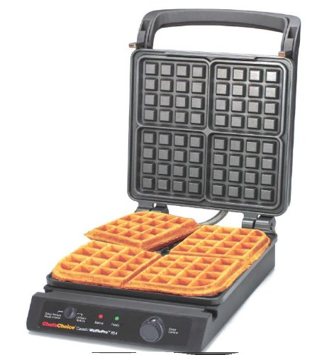 Great Features Of Chef's Choice 854 Classic Pro 4-Square Waffle Maker