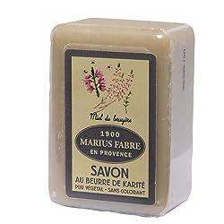 Savon De Marseille Soap Heather Honey Marius Fabre 5.3 Oz Bar