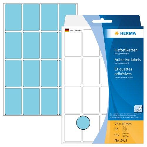 herma-2453-vielzwecketiketten-papier-matt-25-x-40-mm-512-stuck-blau