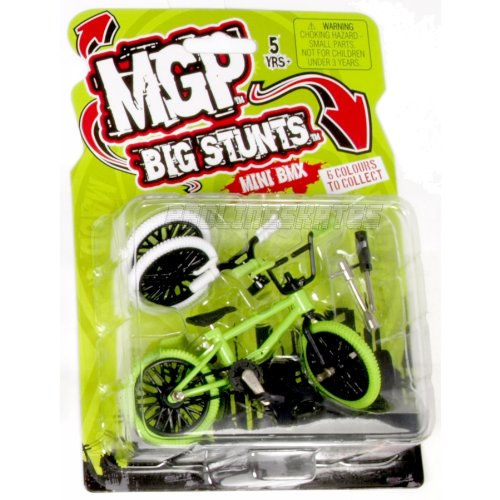 Madd Mgp Big Stunts Mini Finger Bmx - Green
