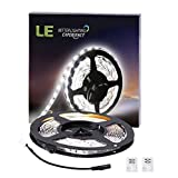 LE-164ft5m-Flexible-LED-Light-Strips-300-Units-SMD-3528-LEDs-12V-DC-Flexible-LED-Strip-Lights-Daylight-White-Non-waterproof-Lighting-Strips-LED-Tape-for-GardensHomesKitchenCarsBar