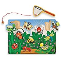 Melissa & Doug Bug Catch In Magnetic Puzzle Game