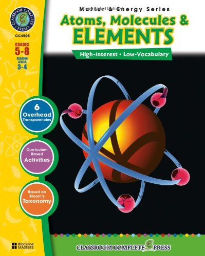 Atoms, Molecules & Elements (Matter & Energy)