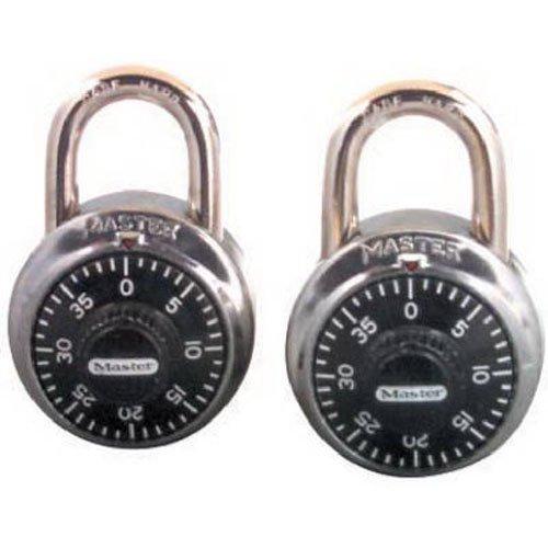 Master Lock 1500T Combination-Alike Locks, 2-Pack