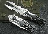 サバイバル 新 デザイン ポケット 両面 ナイフ
