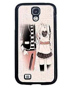 PrintVisa Metal Printed Love Designer Back Case Cover for Samsung Galaxy S4 I9500/ I9505-D4861