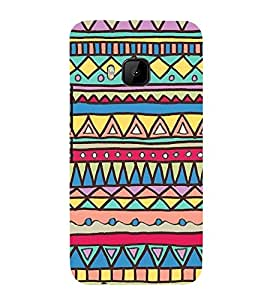 Amazing Design Pattern 3D Hard Polycarbonate Designer Back Case Cover for HTC One M9 :: HTC M9 :: HTC One Hima