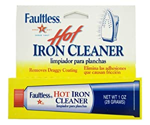Faultless Starch 40110 Faultless Hot Iron Cleaner1oz (28 Grams)