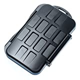 JJC MC-1 Storage Case with 4x CF/8x Memory Stick Pro Duo Card