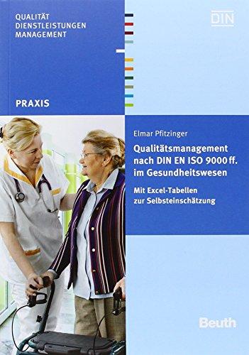 Qualitätsmanagement Nach Din En Iso 9000 Ff. Im Gesundheitswesen + Wörterbuch Qualitätsmanagement In Der Medizin