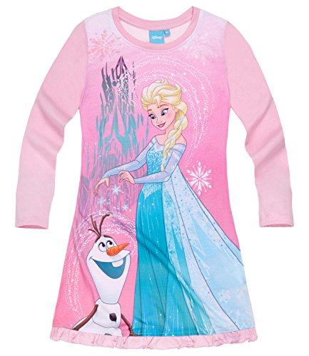 Disney Frozen - Il regno di ghiaccio Ragazze Camicia da notte - rosa - 128