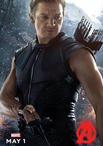 映画 アベンジャーズ エイジ・オブ・ウルトロン Avengers: Age of Ultron ポスター 42x30cm アイアンマン キャプテン アメリカ ハルク ソー ホークアイ ブラック ウィドウ [並行輸入品]