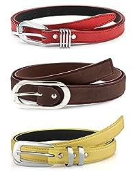 Oleva Ladies Belt combo set of 3 OVD-852