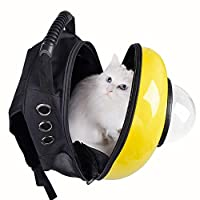 Innovative Patent Bubble Pet Carriers Traveler Bubble Backpack Pet Carrier for Cats, Outdoor Travel Mesh Pup Pack for Pet