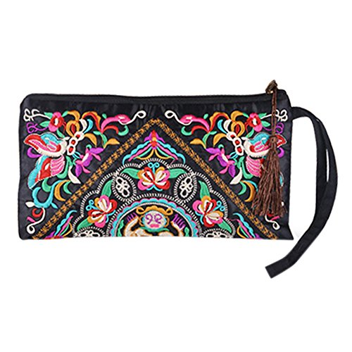 sanwood-womens-retro-ethnic-embroider-purse-wallet-phone-bag-butterfly-flower