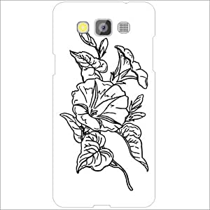 Samsung Galaxy Grand Max SM-G7200 Back Cover - Lazer Print Rose Designer Cases