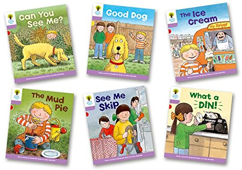 Oxford Reading Tree: Level 1+: More First Sentences C: Pack of 6