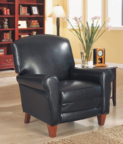 deluxe club chair by coaster furniture