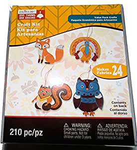 Creatology Thanksgiving Craft Kit Turkey And Owl