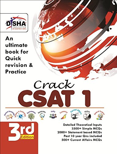 Crack Civil Services General Studies IAS Prelims (CSAT) - Paper 1 Third Edition