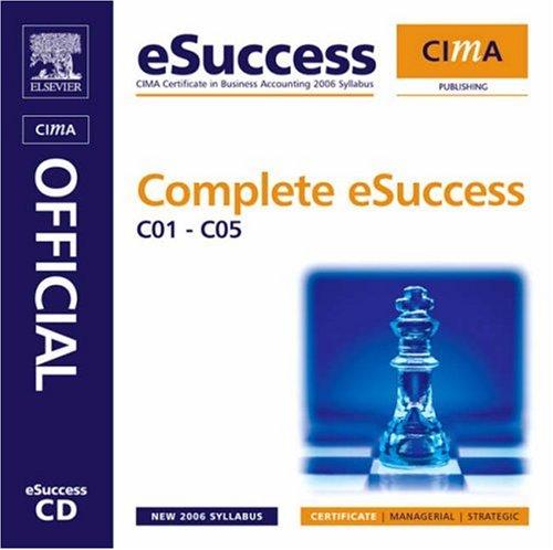 Cima Complete Esuccess CDROM