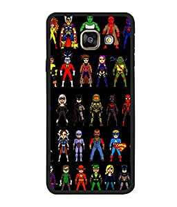 printtech Superhero Collection Back Case Cover for Samsung Galaxy A5 (2016) :: Samsung Galaxy A5 (2016) Duos with dual-SIM card slots