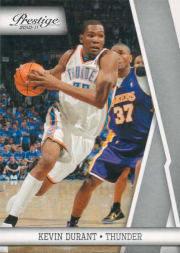 Kevin Durant 2010 / 2011 Panini Playoff Prestige Series Mint Card #83 Picturing This Oklahoma City Thunder Superstar in His White OKC Jersey! Shipped in a Protective Screwdown Holder! at Amazon.com