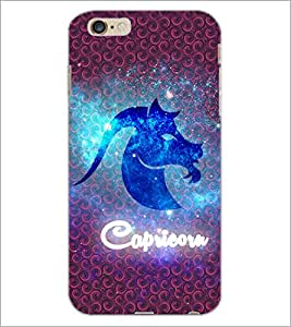 PrintDhaba Zodiac Capricorn D-3242 Back Case Cover for APPLE IPHONE 6 (Multi-Coloured)