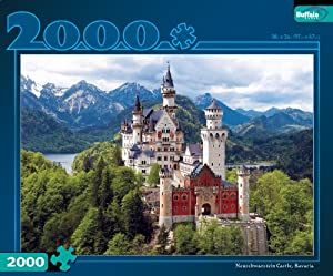 Neuschwanstein Castle, Bavaria 2000pc Jigsaw Puzzle