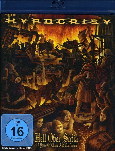 Blu-ray : Hypocrisy - Hell Over Sofia-20 Years of Chaos & Confusion (Holland - Import)