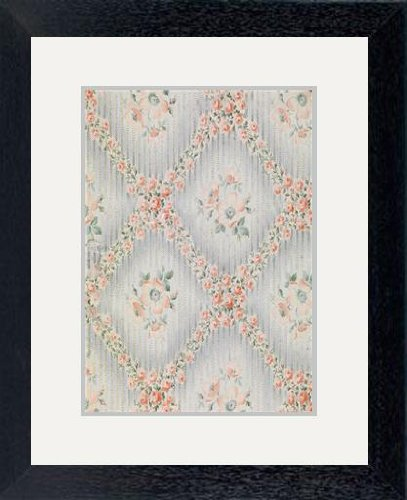 print-of-textile-design-for-the-trekhgornaya-manufaktura-1912-artist-anonymous-in-black-frame