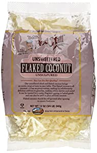 Bob's Red Mill Unsweetened Flaked Coconut - 12 oz
