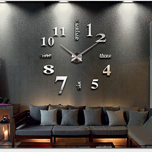 Soled fantastico orologio da parete deluxe effetto for Orologio stickers