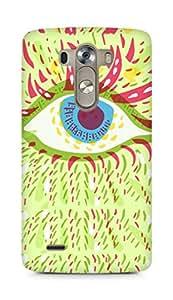 Amez designer printed 3d premium high quality back case cover for LG G3 (Psychedelic eye)