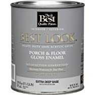 - W39W00903-14 Best Look Heavy-Duty Acrylic Latex Gloss Floor Enamel