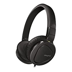Creative Hitz MA2600 Premium Headset for Music and Calls (Black)