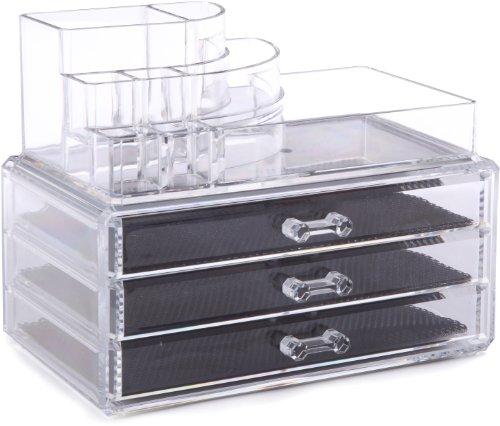 Ordinare&Co Cosmetic Organizer 3 Cassetti + Porta Trucchi
