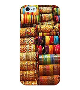 ColourCraft Lovely Bangles Design Back Case Cover for APPLE IPHONE 6S