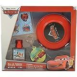 DISNEY Cars Coffret Cadeau Eau de Toilette 30 ml + Frisbee + Porte-Clés + Stickers