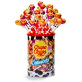 Chupa Chups Cremosa Lollies Display Tub with 96 Lollies