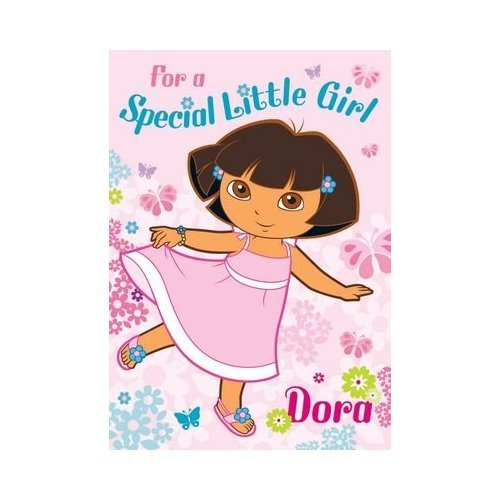 Dora the Explorer Birthday Card for Special Little Girls