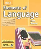 Holt Elements of Language, Fifth Course (0030686695) by Odell, Lee