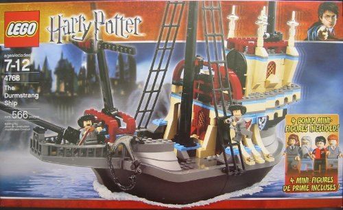 Let S Play And Happy Time Lego Harry Potter The Durmstrang Ship With 4 Bonus Mini Figures 4768 566 Pieces The set is modeled on the ship that was sailed by durmstrang students to hogwarts so that they may participate in the prestigious triwizard tournament. let s play and happy time blogger